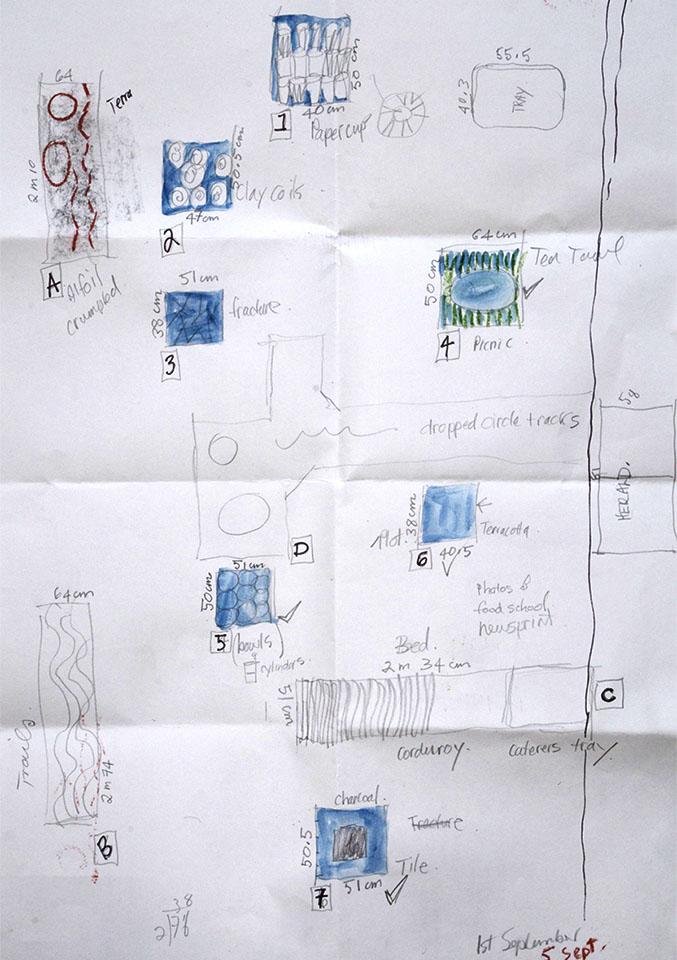 Toni Warburton Drawing