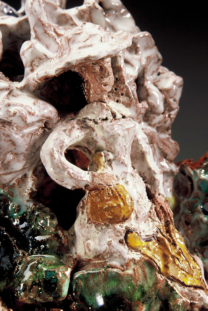 Toni Warburton, Artist. Artwork from Haze exhibition