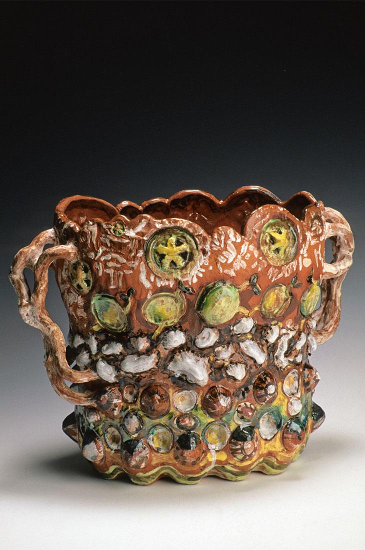 Toni Warburton, Art Exhibition. Wake, Ceramics. 1997
