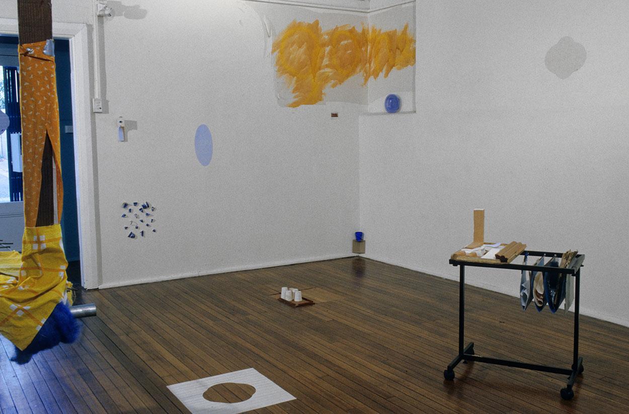 Toni Warburton, Artist. Green, 2000