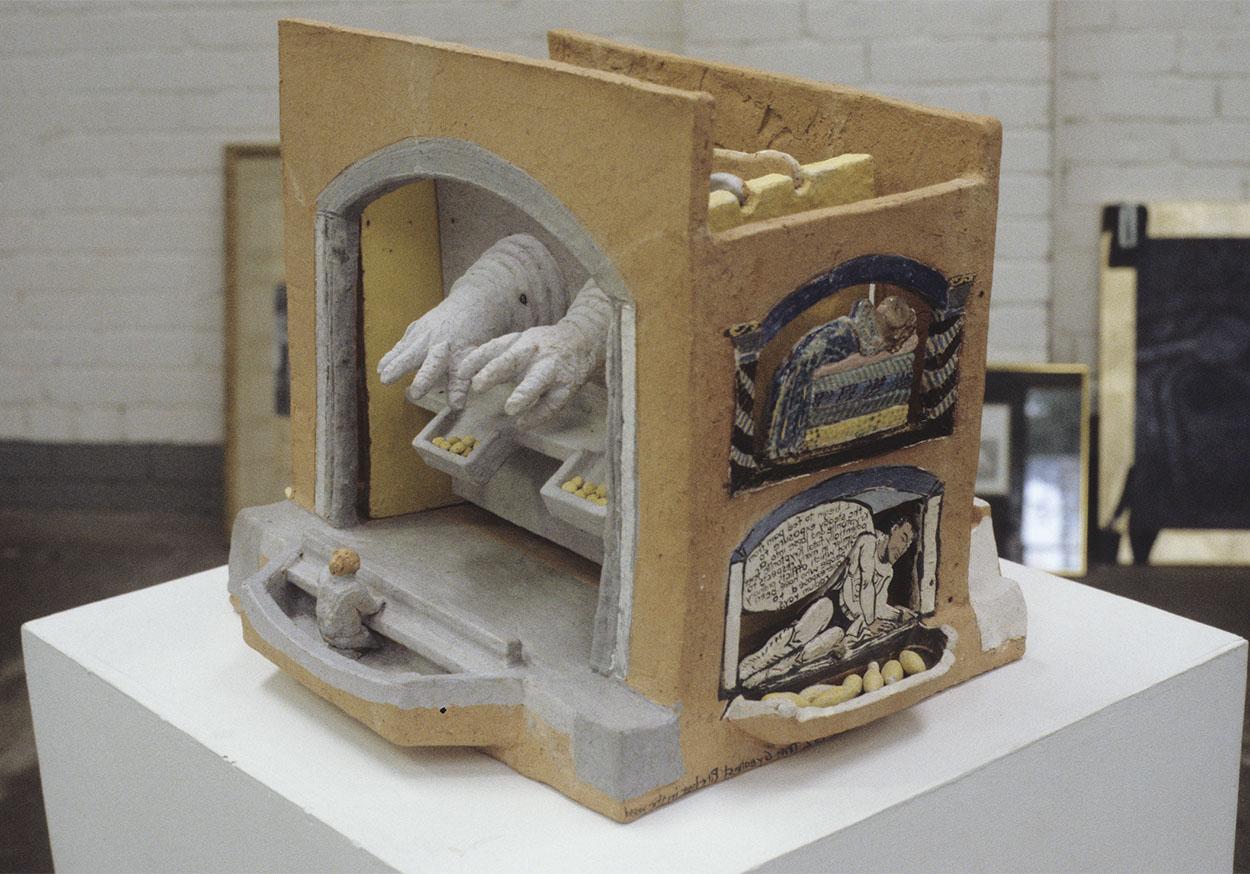 Toni Warburton, Artwork. Object Scenarios. 1986