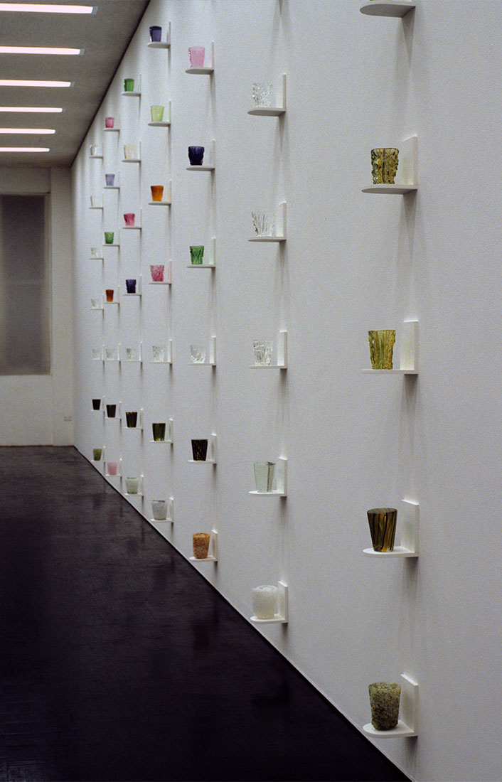 Toni Warburton, Catchment, a field of beakers for Saint Hedwig of Silesia and for Wingecarribee Swamp, Mori Gallery. 2000