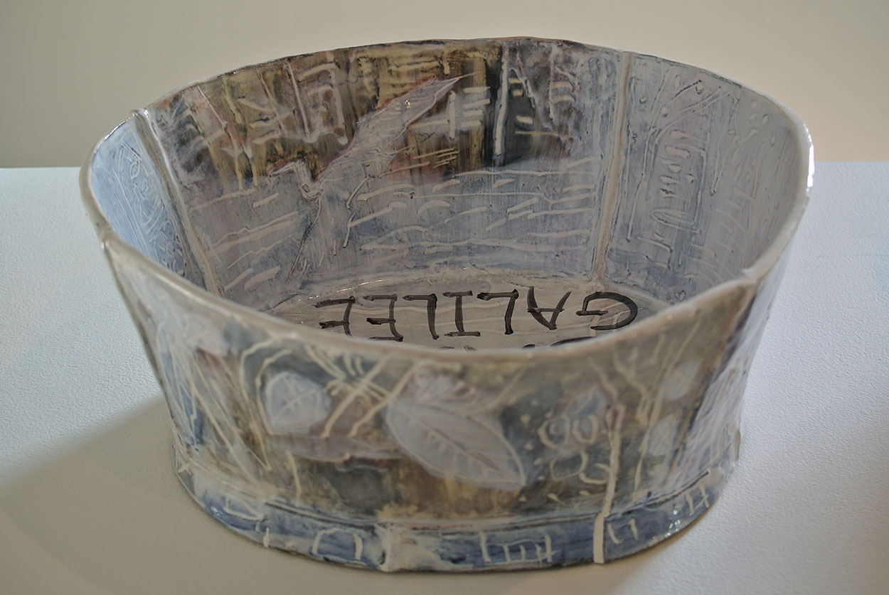 Toni Warburton, Artist. Turn Turn Turn, The Studio Ceramics Tradition at the National Art School, curator by Glen Barkley, National Art School Gallery Sydney, 2015