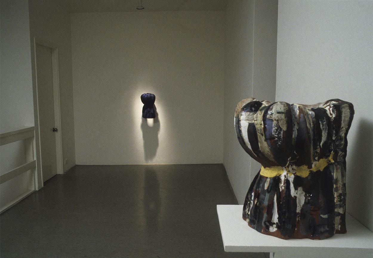 Toni Warburton, Artist. Virtual Vases, Mori Gallery, Leichhardt Sydney, 1991