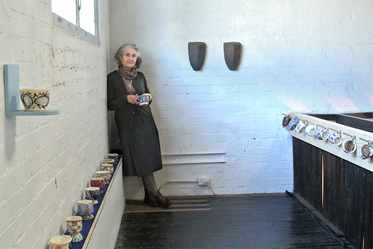 Toni Warburton, Artist. Art exhibition, Boat, Articulate Project Space, 2017