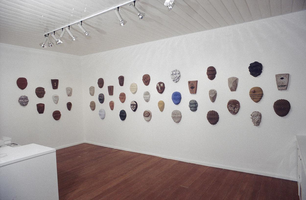 Toni Warburton, Art Exhibition. Audile, Mori Gallery Sydney, 1989