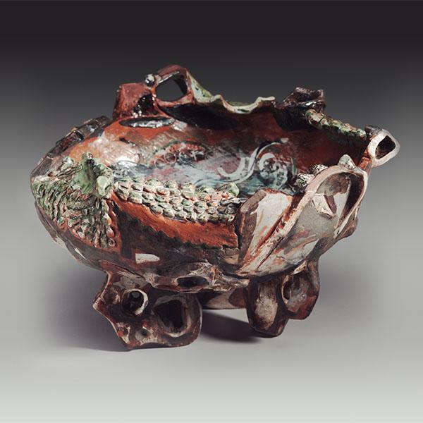 Toni Warburton, Art Exhibition. Attachment to place: Ceramics & Pictures, Mori Gallery, 1982