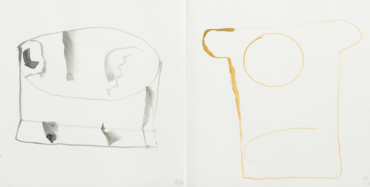 Toni Warburton. Artist Visual Notes, Messages 2018