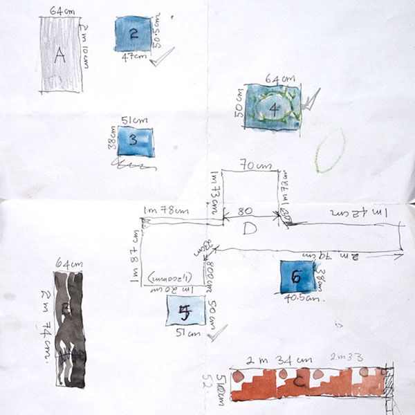 Artist Visual Notes & Working Drawings, National Art School drawing exchange 2018
