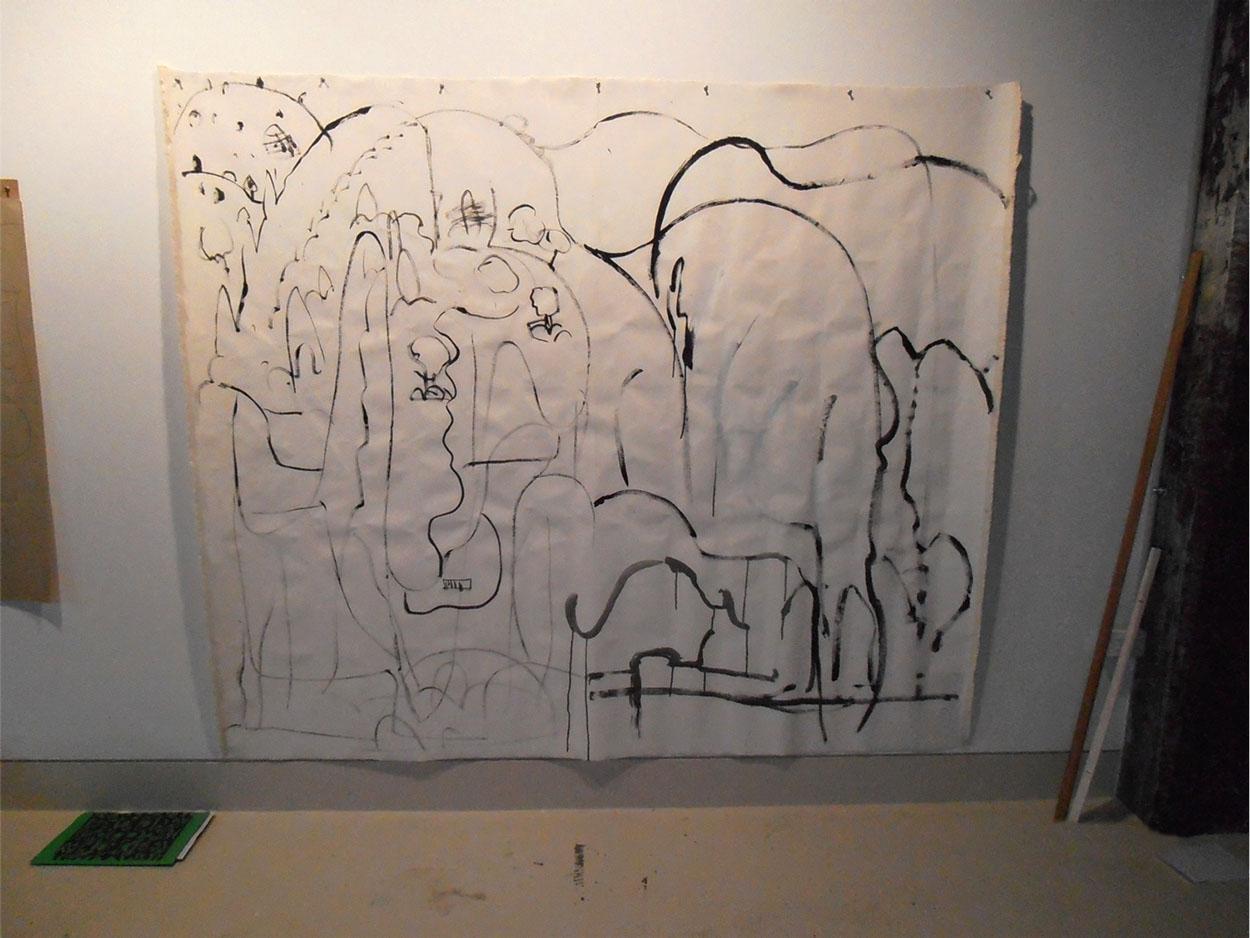 Toni Warburton, Artist. Eye of Horus, 2012