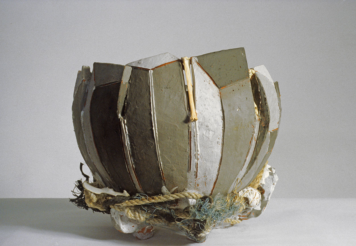 Toni Warburton, Art Exhibition. Living in the Pacific - Mayfair Ceramics Award Exhibition, Curated by Peter Emmet, Crafts Council Gallery Sydney. 1983