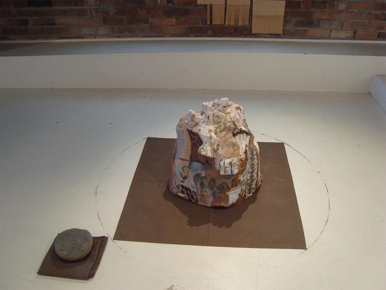 Toni Warburton, Art. Process, Participation, Circumnambulate x 8