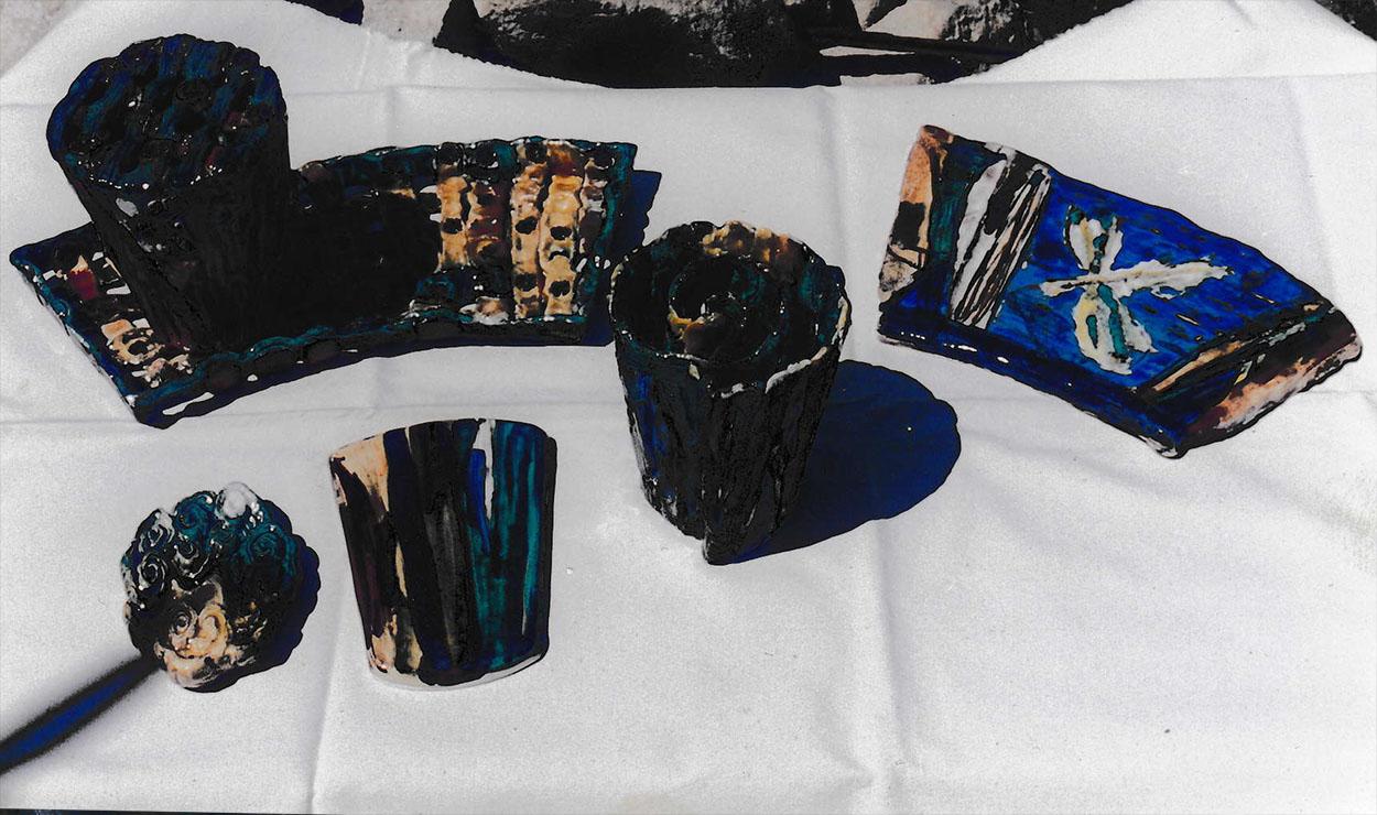 Toni Warburton, Artist. Process: Teatree Water Table (Mirror)