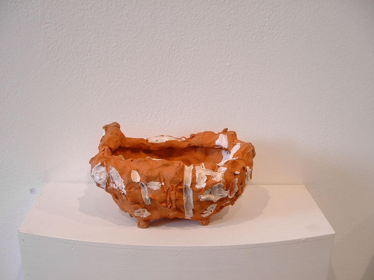Toni Warburton Artist. Art Exhibition, Kiosk