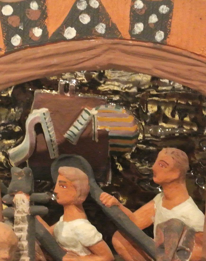 Toni Warburton, Artworks. In Public Collections, Cold War Enigma (Object Scenario)
