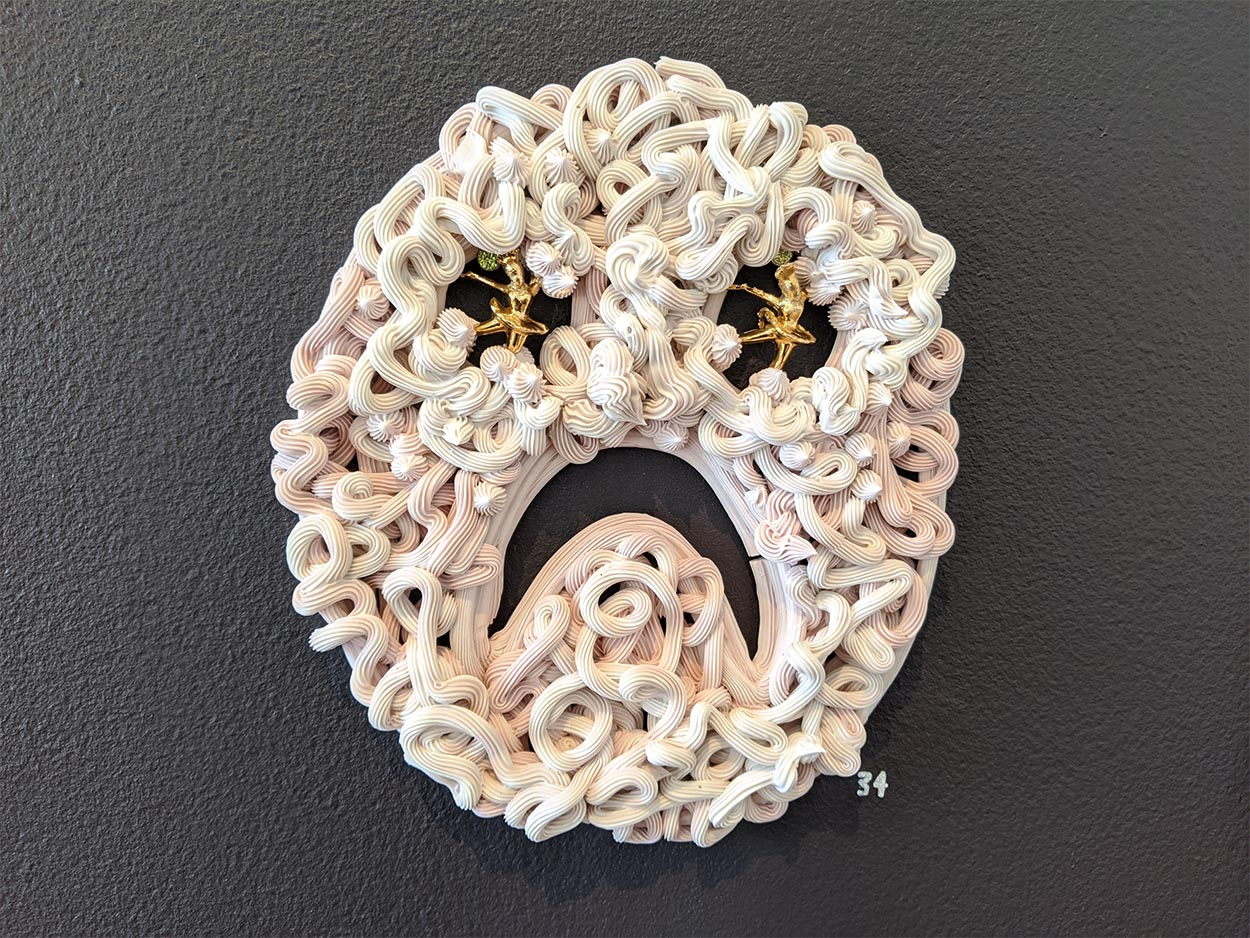 Toni Warburton, Artist. Everyday, See, Pastillage Queen
