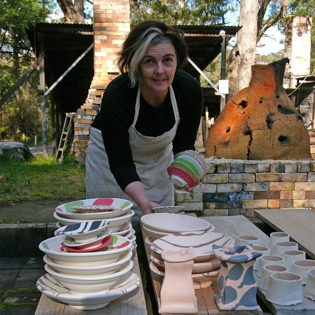 Toni Warburton, Artist. Residencies - 2013 Fuping Group, Sturt Workshops, Mittagong