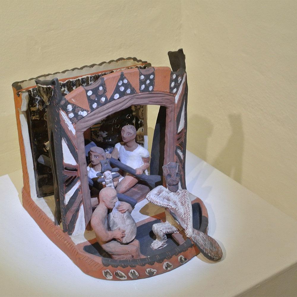 Toni Warburton, Artist. Group Exhibition, Treasures from the Vault