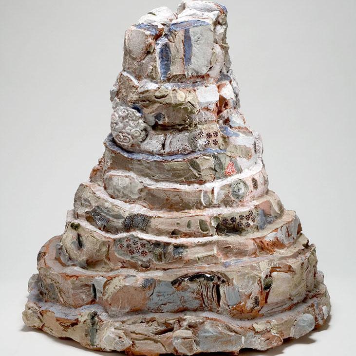 Toni Warburton, Artist. Group Exhibition, Vase and Flower Show, 2020